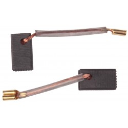 Szczotki węglowe amatorskie 6x8x14mm BlackDecker, Ferm - szlifierki, wiertarki