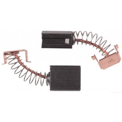 Szczotki węglowe 6x10x12.5mm, małe szlifierki Graphite, Einhell i inne