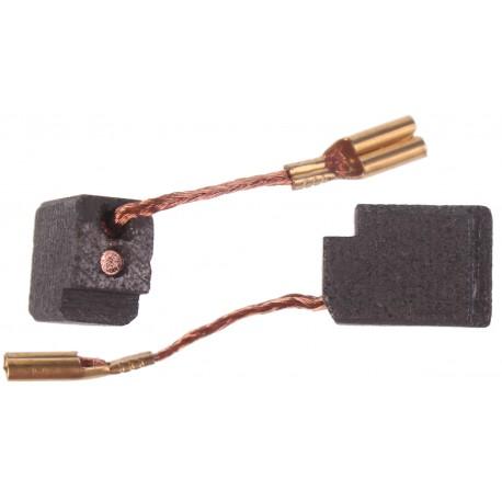Szczotki węglowe do elektronarzędzi DeWalt 636128 i innych 6.4x10x13 mm