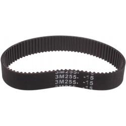 Pasek zębaty 3m-255-15 Szerokość: 15mm Długość 255 Z: 85