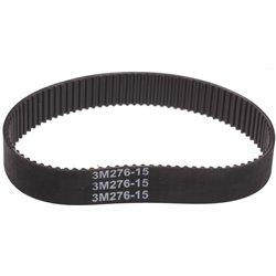 Pasek zebaty 3m-276-15 Szerokość: 15mm Długość 276 Z: 92