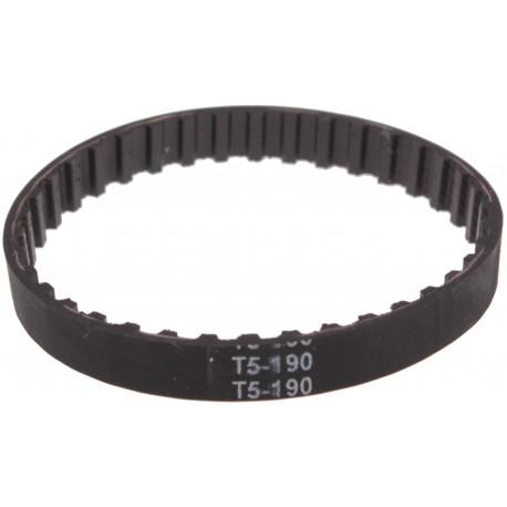 Pasek zębaty T5x190-8 Szerokość: 8mm Długość: 190mm Z: 38