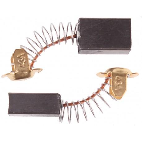 Szczotki węglowe do elektronarzędzi amatorskich 7 x 11 x 17 mm