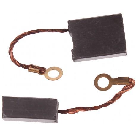 Szczotki węglowe do elektronarzędzi amatorskich 8 x 15 x 20 mm