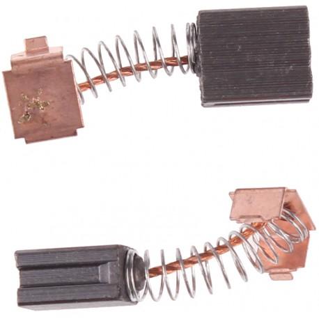 Szczotki węglowe do elektronarzędzi amatorskich 6 x 10 x 11.6 mm