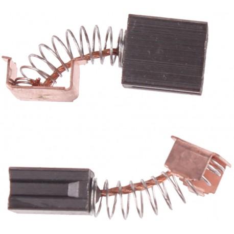 Szczotki węglowe do elektronarzędzi amatorskich 6 x 10 x 11.1 mm