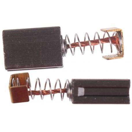Szczotki węglowe do elektronarzędzi amatorskich 6 x 10 x 14 mm
