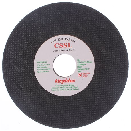 T-CSSL125x1 Tarcza do stali 125x1.0