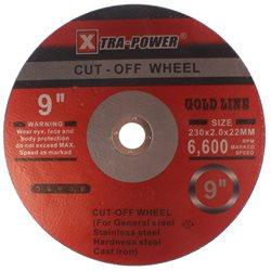 Tarcza do cięcia metalu, stali XTP 230x2.0mm