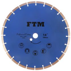 Tacza diamentowa segmentowa 350mm FTM-14NS