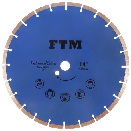 Tacza diamentowa segmentowa 350mm FTM