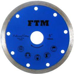 Tarcza diamentowa pełna 125mm FTM-5NP