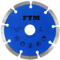 Tacza diamentowa segmentowa 125mm FTM-5NS