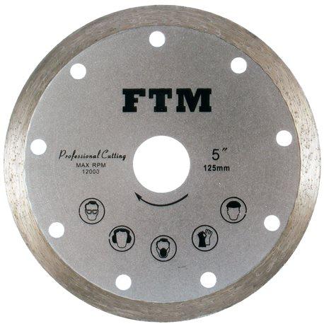 Tarcza diamentowa pełna 125mm FTM-5SP