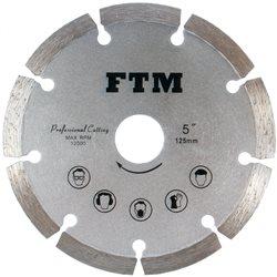 Tacza diamentowa segmentowa 125mm FTM-5SS