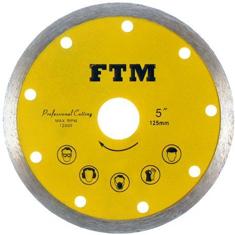 Tarcza diamentowa pełna 125mm FTM-5ZP