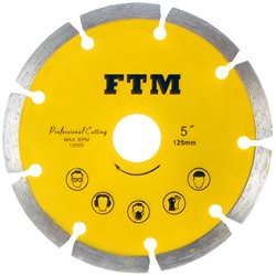 Tacza diamentowa segmentowa 125mm FTM-5ZS