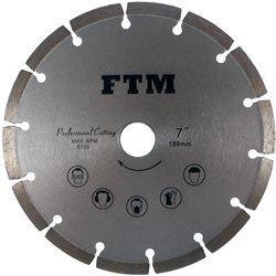 Tacza diamentowa segmentowa 180mm FTM-7SS