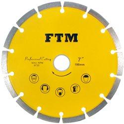 Tacza diamentowa segmentowa 180mm FTM-7ZS