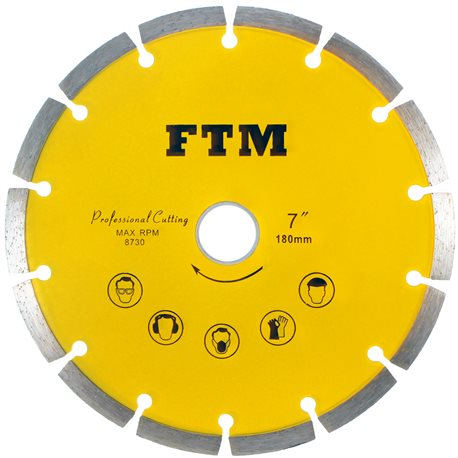 Tacza diamentowa segmentowa 230mm FTM-7ZS