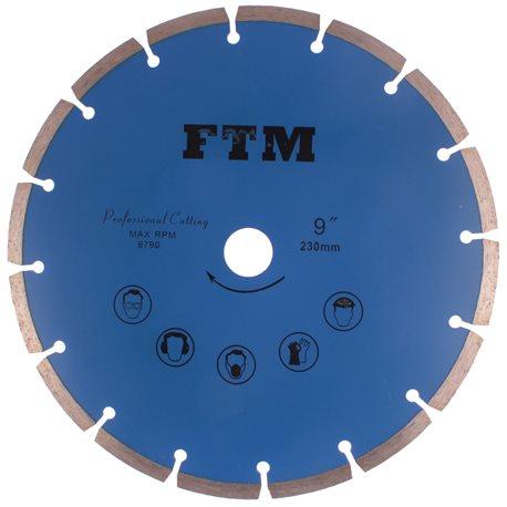 Tacza diamentowa segmentowa 230mm FTM-9NS