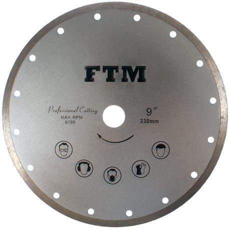 Tarcza diamentowa pełna 230mm FTM-9SP