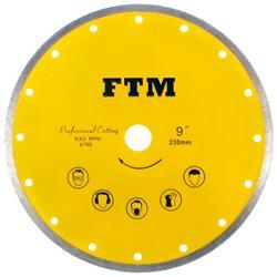 Tarcza diamentowa pełna 230mm FTM-9ZP