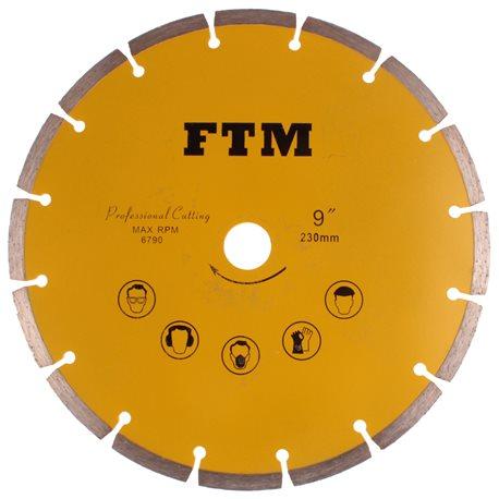 Tacza diamentowa segmentowa 230mm FTM-9ZS