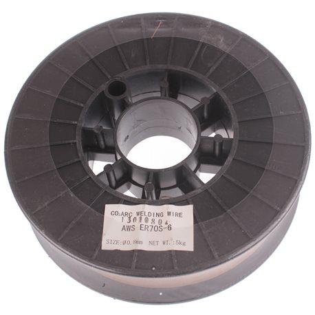 Drut spawalniczy 5KG 0.8mm ER70S-6