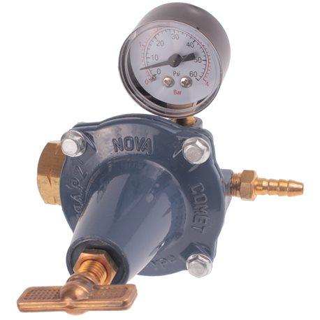 Reduktor do gazu z manometrem