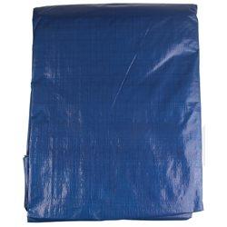 Plandeka gruba 6x10m 140g/m2 niebieski/pomarańczowy