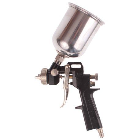 Pistolet do lakierowania z dyszą 1.5mm, pojemność 500ml, metalowy zbiornik