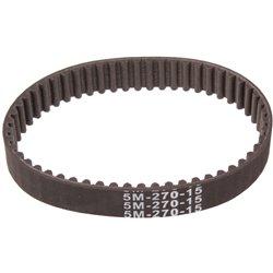 Pasek zębaty 5m-270-15 Szerokość 15 mm Długość 270 mm Z: 54
