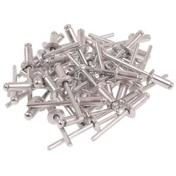 Nity aluminiowe 4.8 x 12.7mm 50 sztuk JOBIprofi