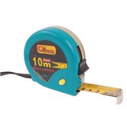 Miara zwijana Corona metalowa 10m/25mm różne kolory metrówka metr taśma miernicza