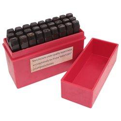 Zestaw numeratorów liter znaczników 6mm 27el. A-Z
