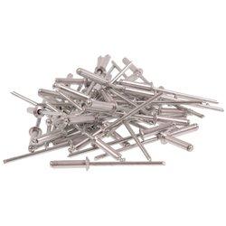 Nity aluminiowe 3.2 x 12.7mm 50 sztuk