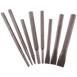 Zestaw punktaków wbijaków i przecinaków 8el Dł.100-176mm