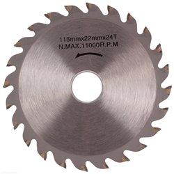 Tarcza widiowa 115 x 20 - 22,2 mm 24T do drewna widia