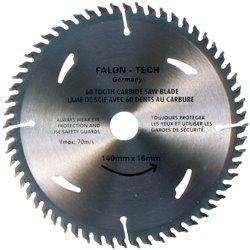 Tarcza widiowa 140 x 16 mm 60T do drewna widia