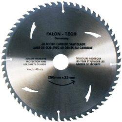 Tarcza widiowa 250 x 32 mm 60T do drewna widia