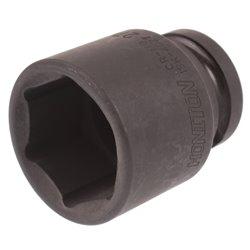 """Nasadka udarowa 1/2"""" 27 mm sześciokątna Cr-Mo Honiton 6-kątna"""