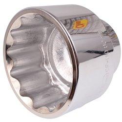 """Nasadka Corona 3/4"""" 80 MM CrV dwunastokątna krótka 12-kątna"""