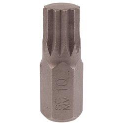 Bit SPLINE M10 x 10mm, 30mm dł. HONITON