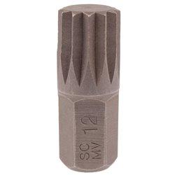 Bit SPLINE M12 x 10mm, 30mm dł. HONITON