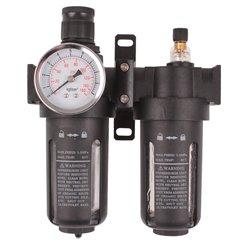 Filtr powietrza odwadniacz lakierniczy reduktor z manometrem