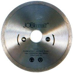 Tarcza diamentowa pełna 125x22.2x2x2mm JOBI profi