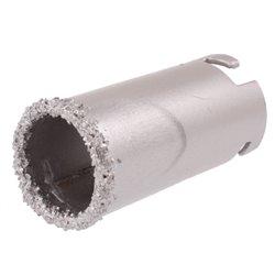Otwornica diamentowa do betonu bez uchwytu 33mm gresu