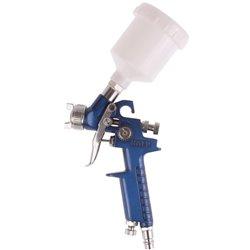 Pistolet do lakierowania HVLP z dyszą 0,8mm, pojemność 125ml, metalowy zbiornik